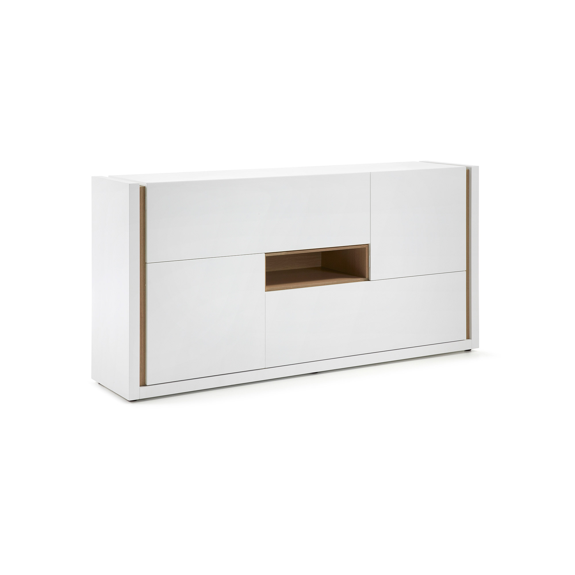 Kave Home - DE Sideboard 197 x 96 cm, weiss | Wohnzimmer > Schränke > Sideboards | Kave Home