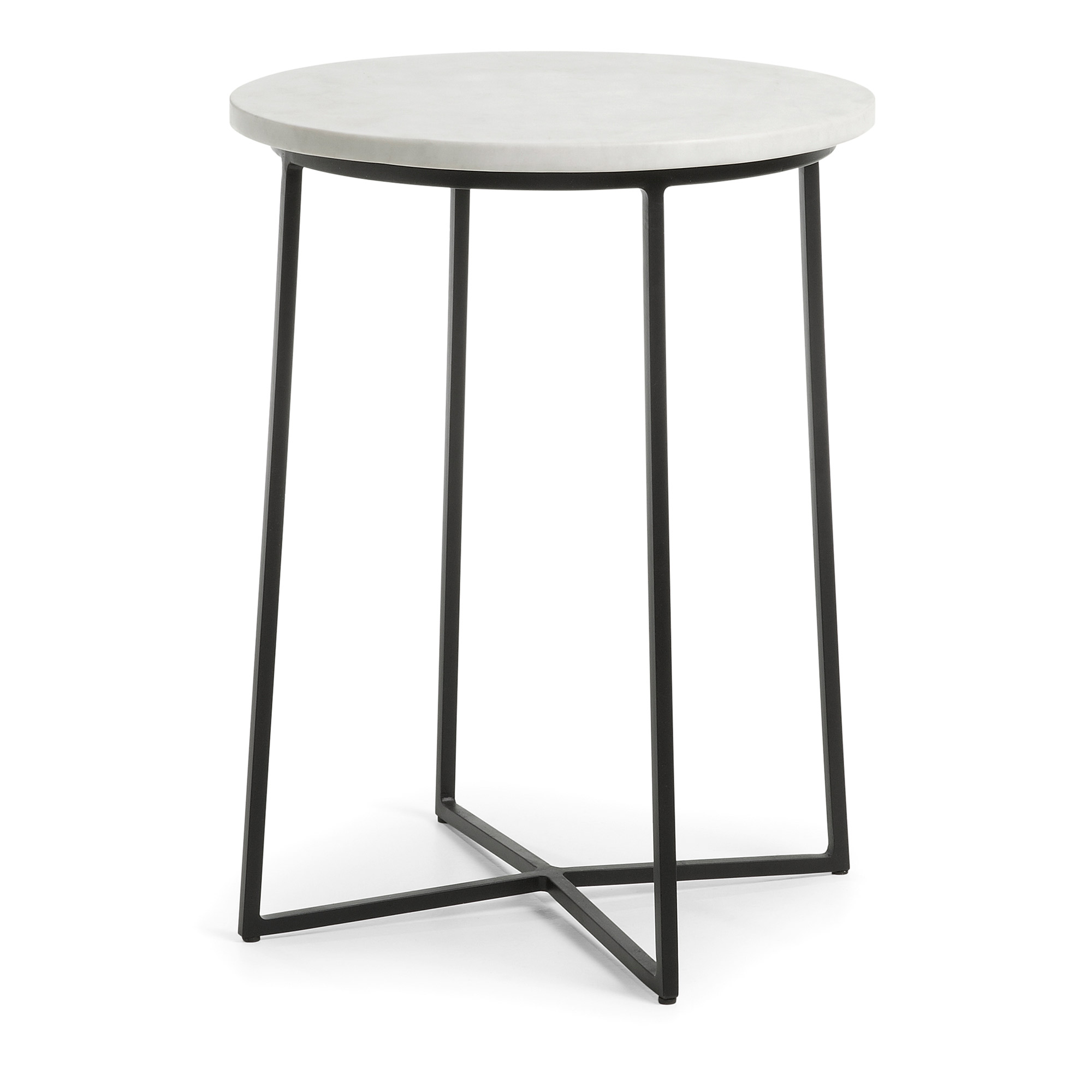 Kave home - table d'appoint bryson b Ø 41 cm