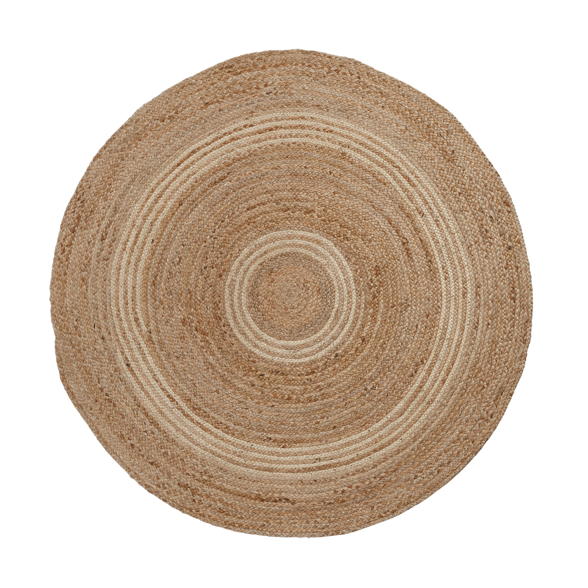 Kave home - tapis saht Ø150 cm naturel