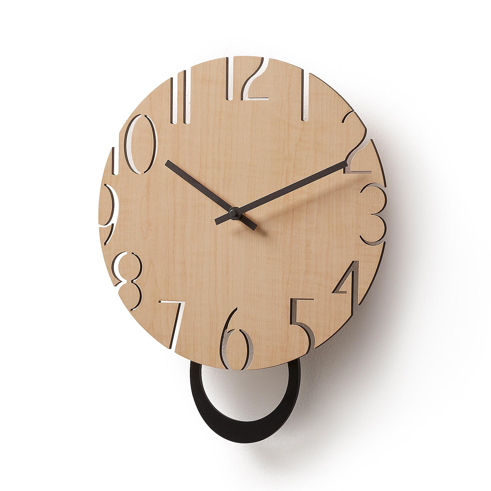 Kave Home - Peters Wanduhr Ø 30 cm   Dekoration > Uhren > Wanduhren   Kave Home
