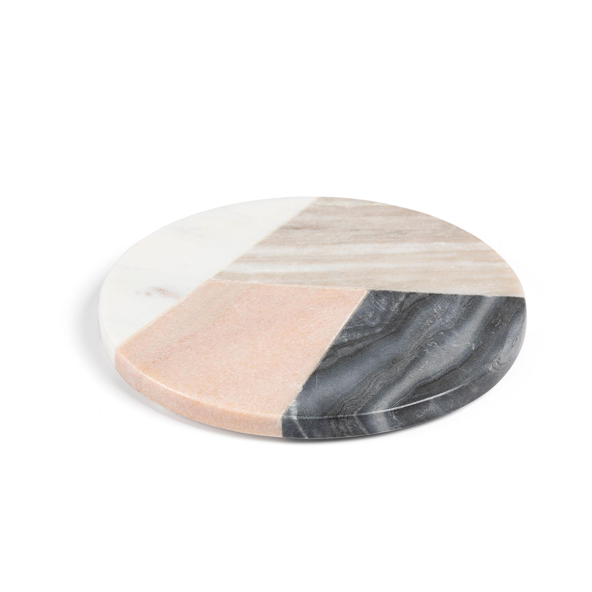 Kave home - dessous de plat rond bradney marbre...