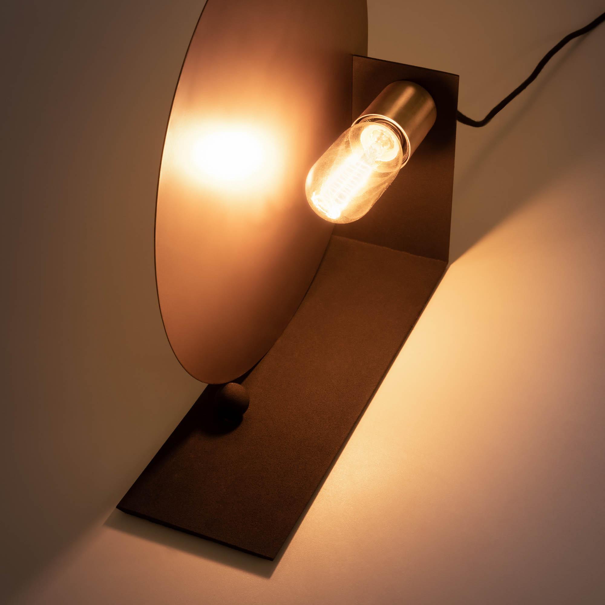 Stahel tafellamp