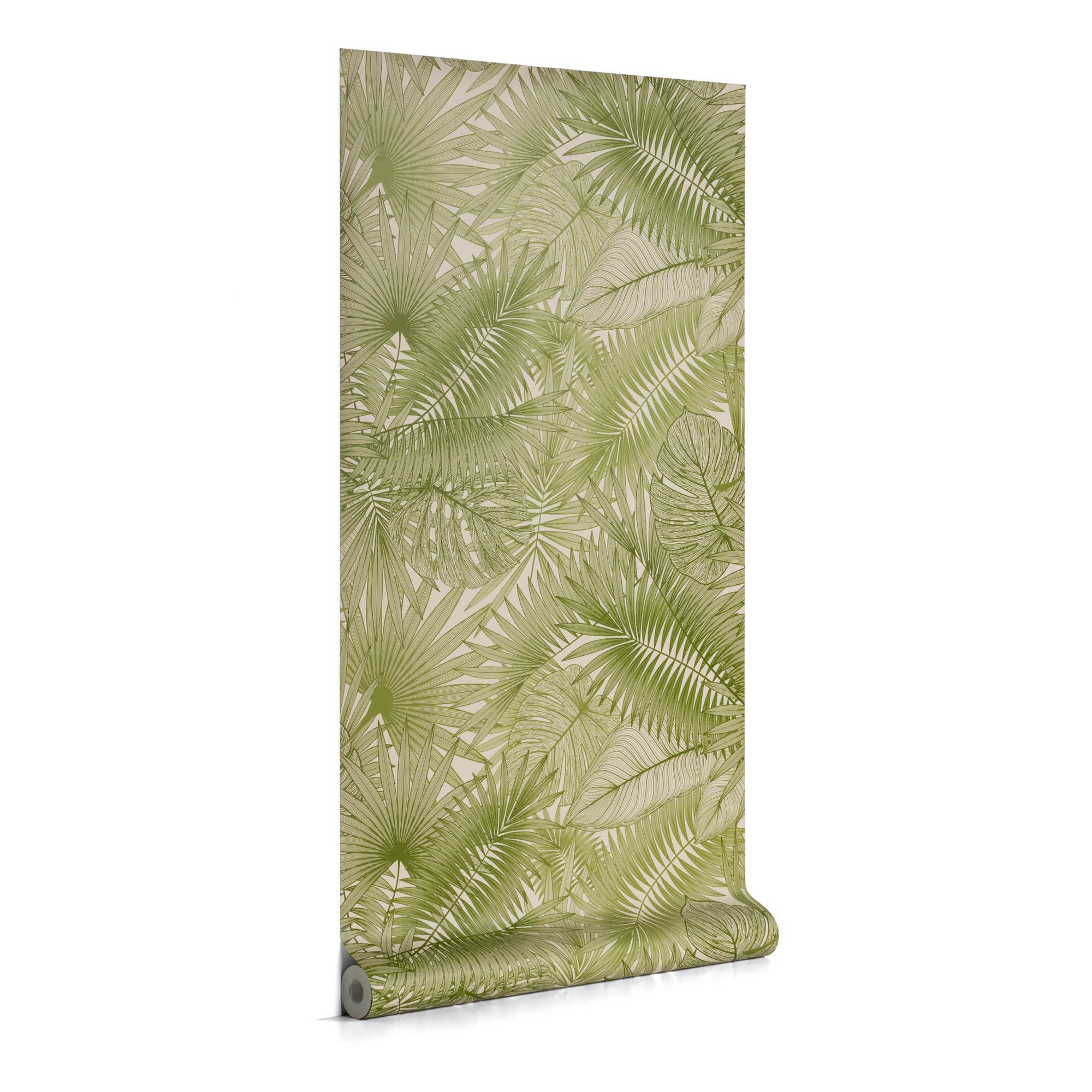 Kave Home - Tropic 10 x 0,53 m Tapete, grün | Baumarkt > Malern und Tapezieren > Tapeten | Kave Home