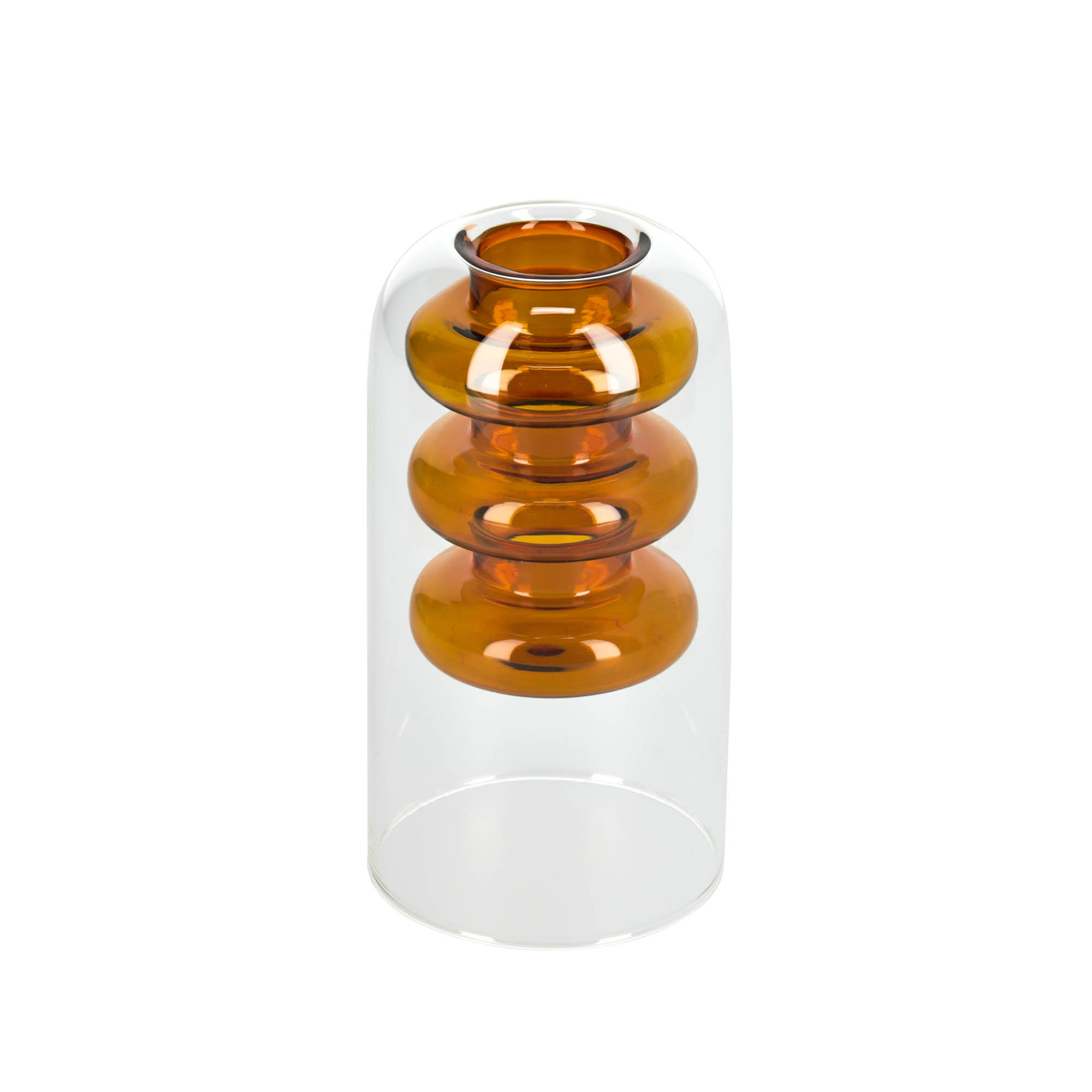 Kave home - vase charlize orange