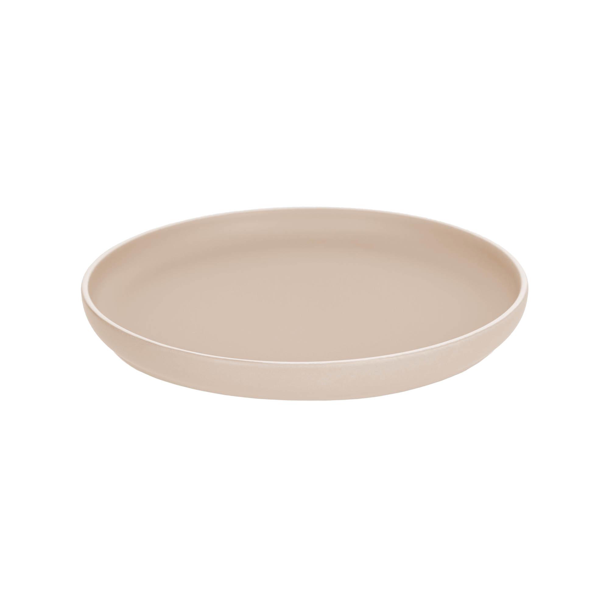 Kave home - assiette plate shun en porcelaine...