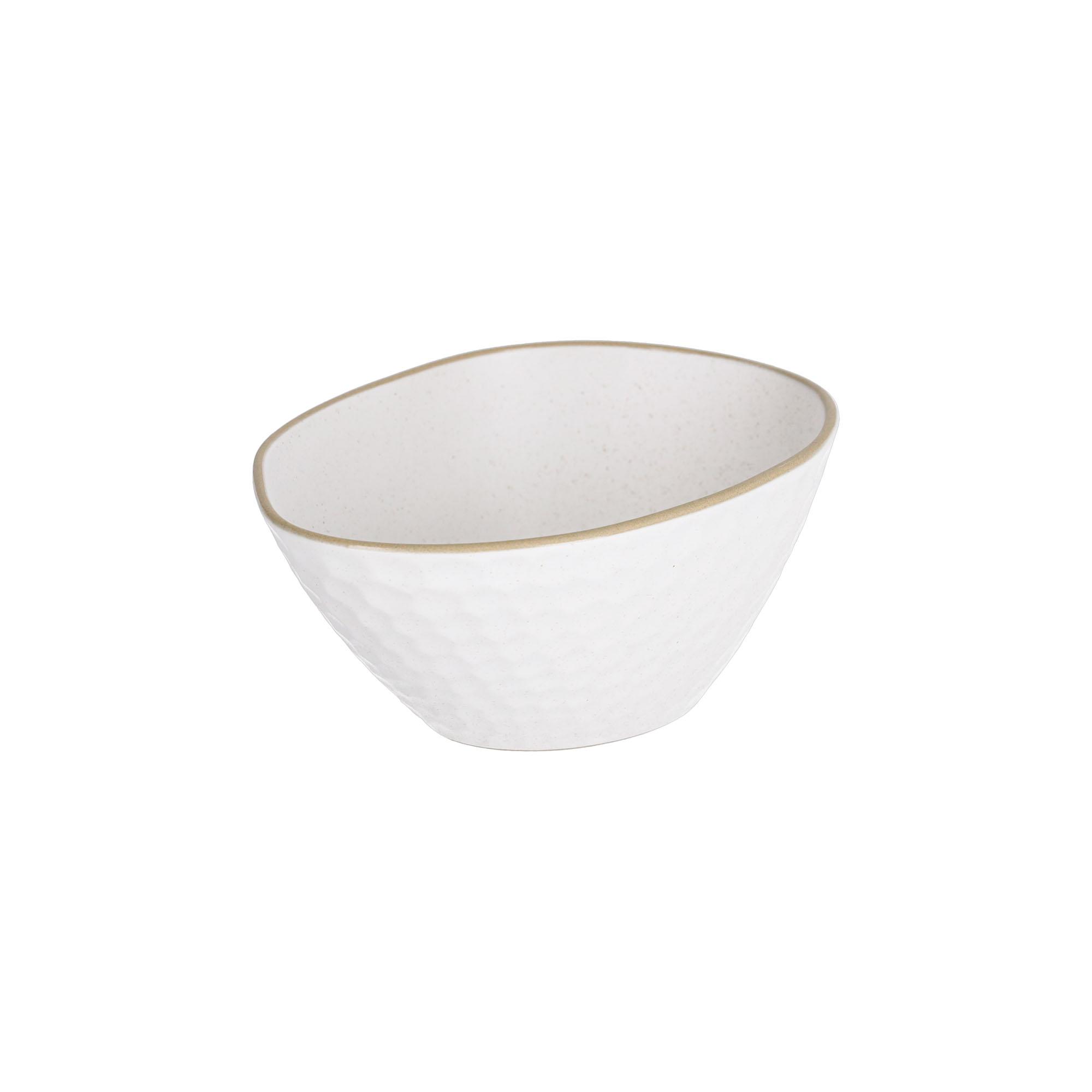 Kave home - bol manami petit en céramique blanc