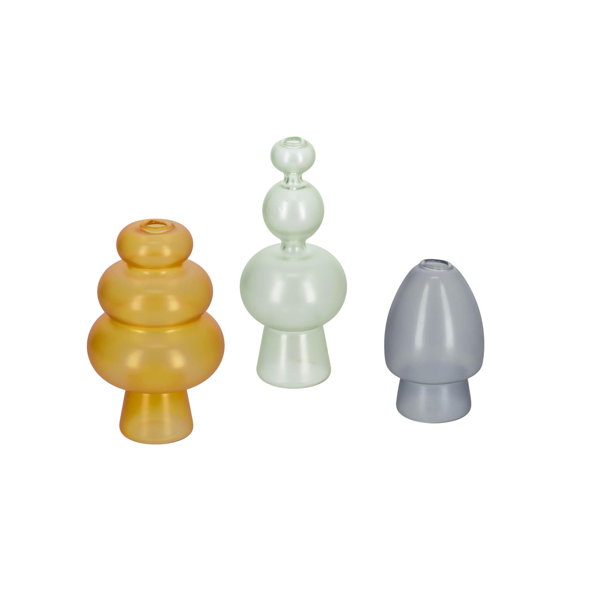 Kave home - set elody de 3 vases