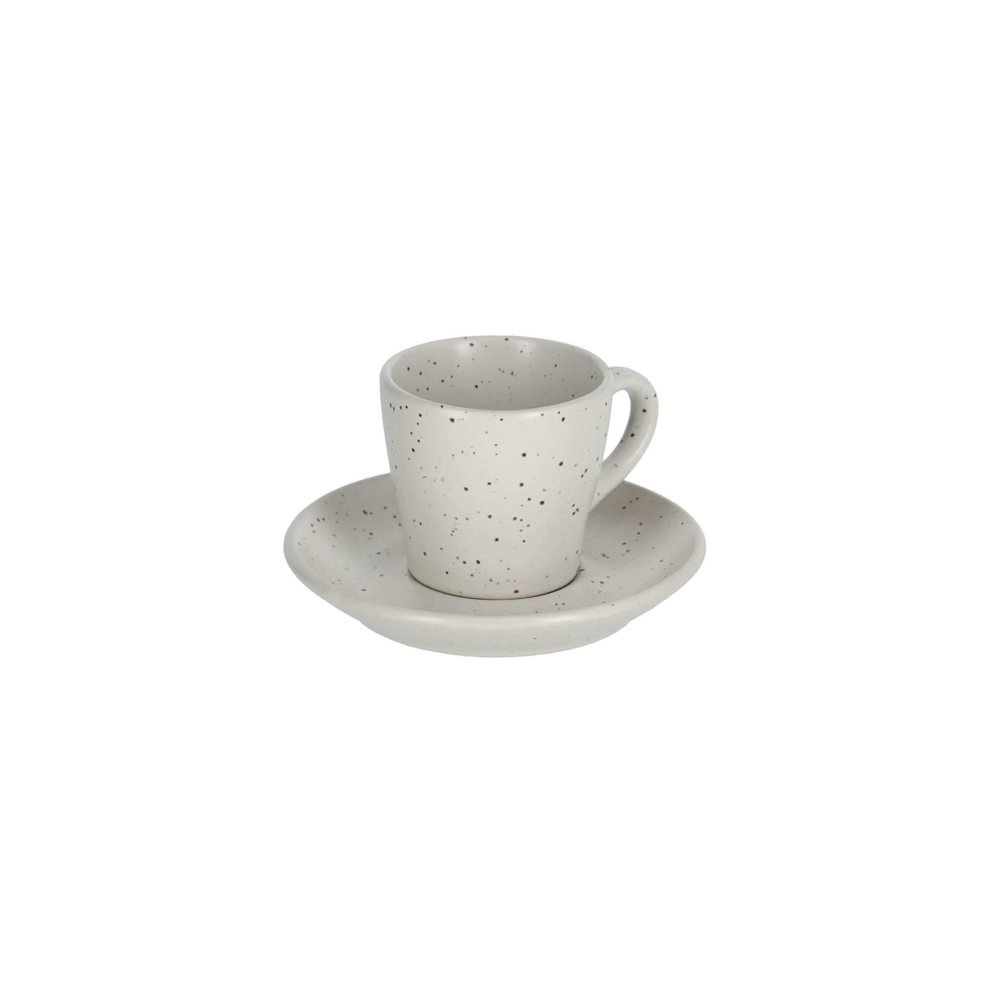 Kave home - tasse à café avec soucoupe aratani...
