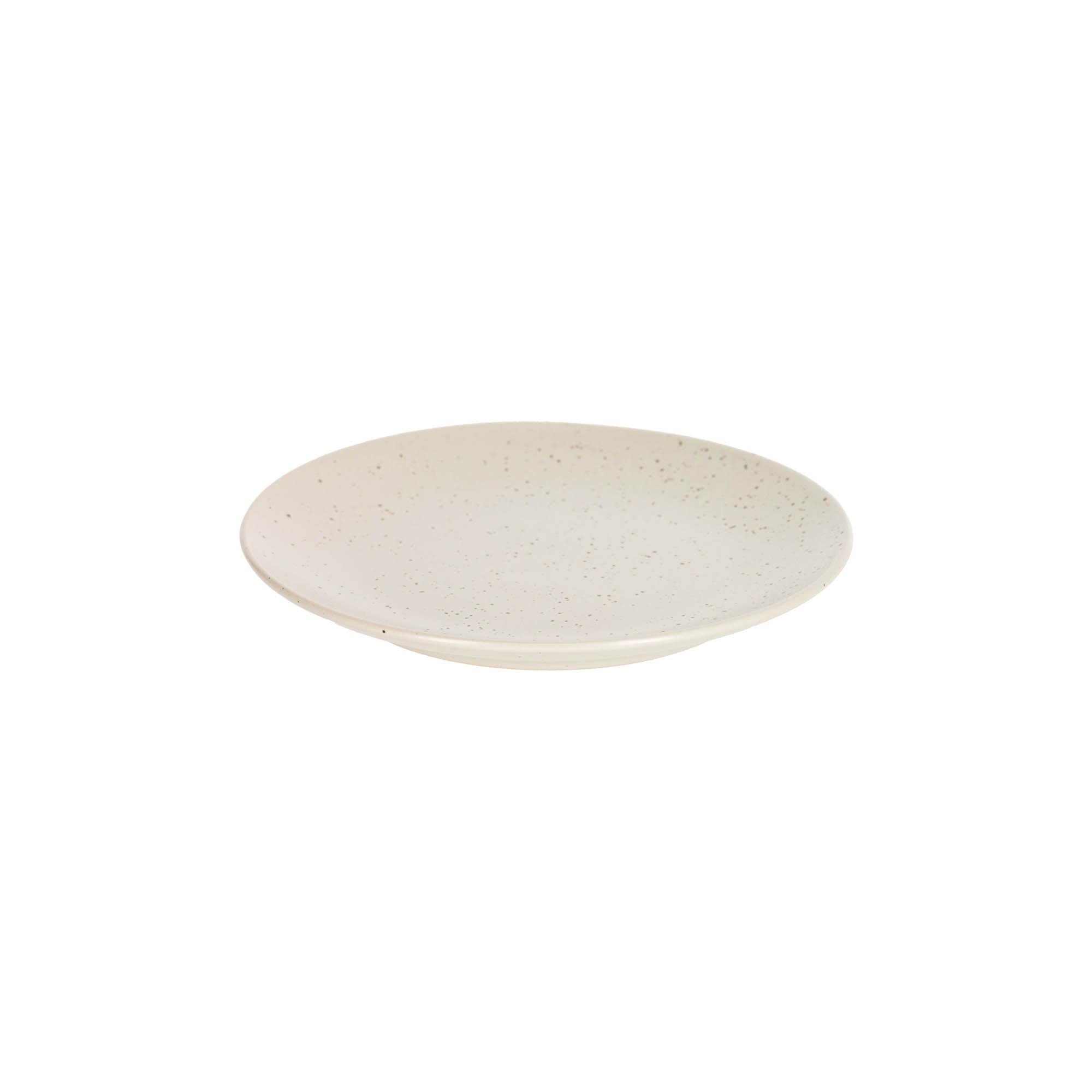Kave home - assiette à dessert aratani blanc
