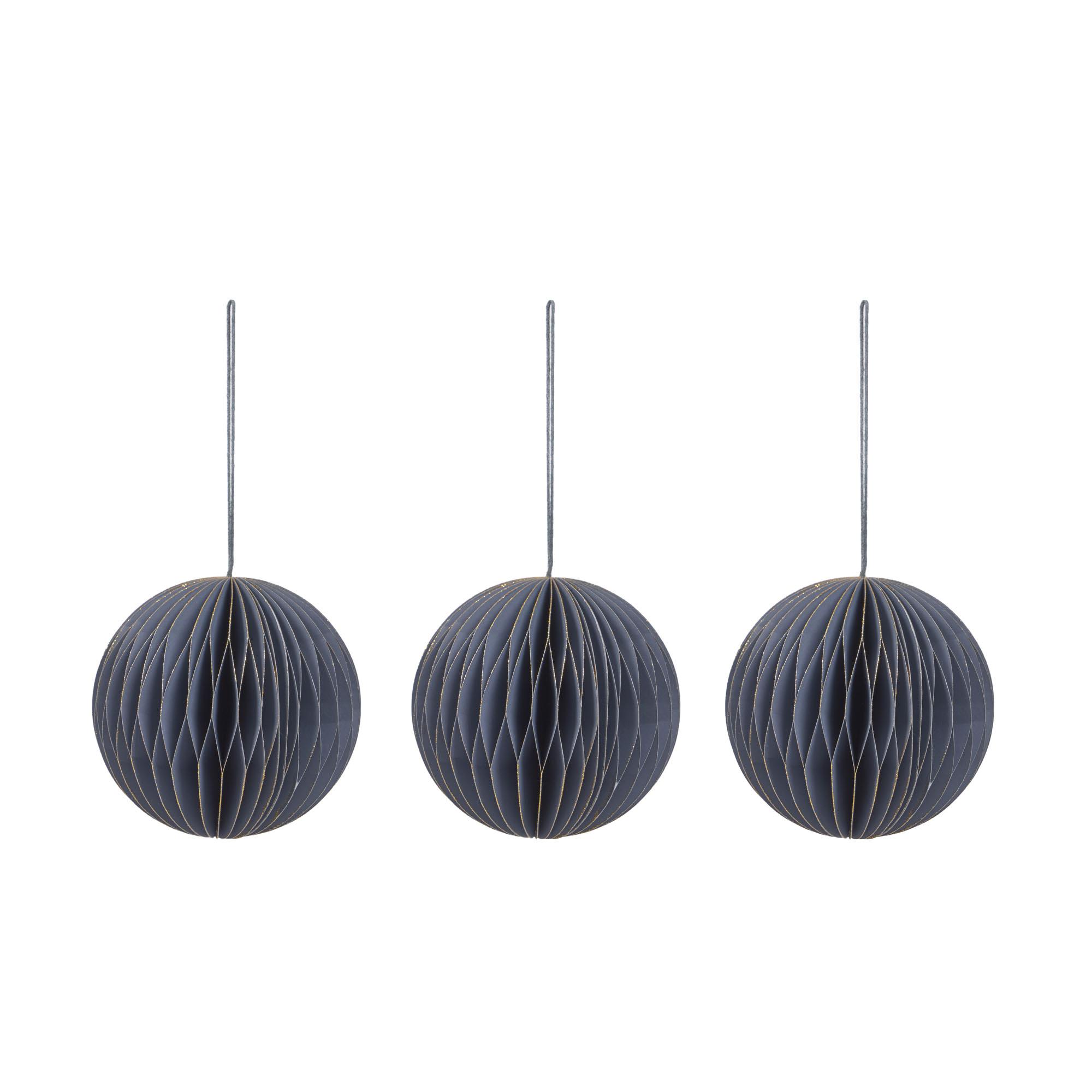 Kave home - lot uriel de 3 boules décoratives à...