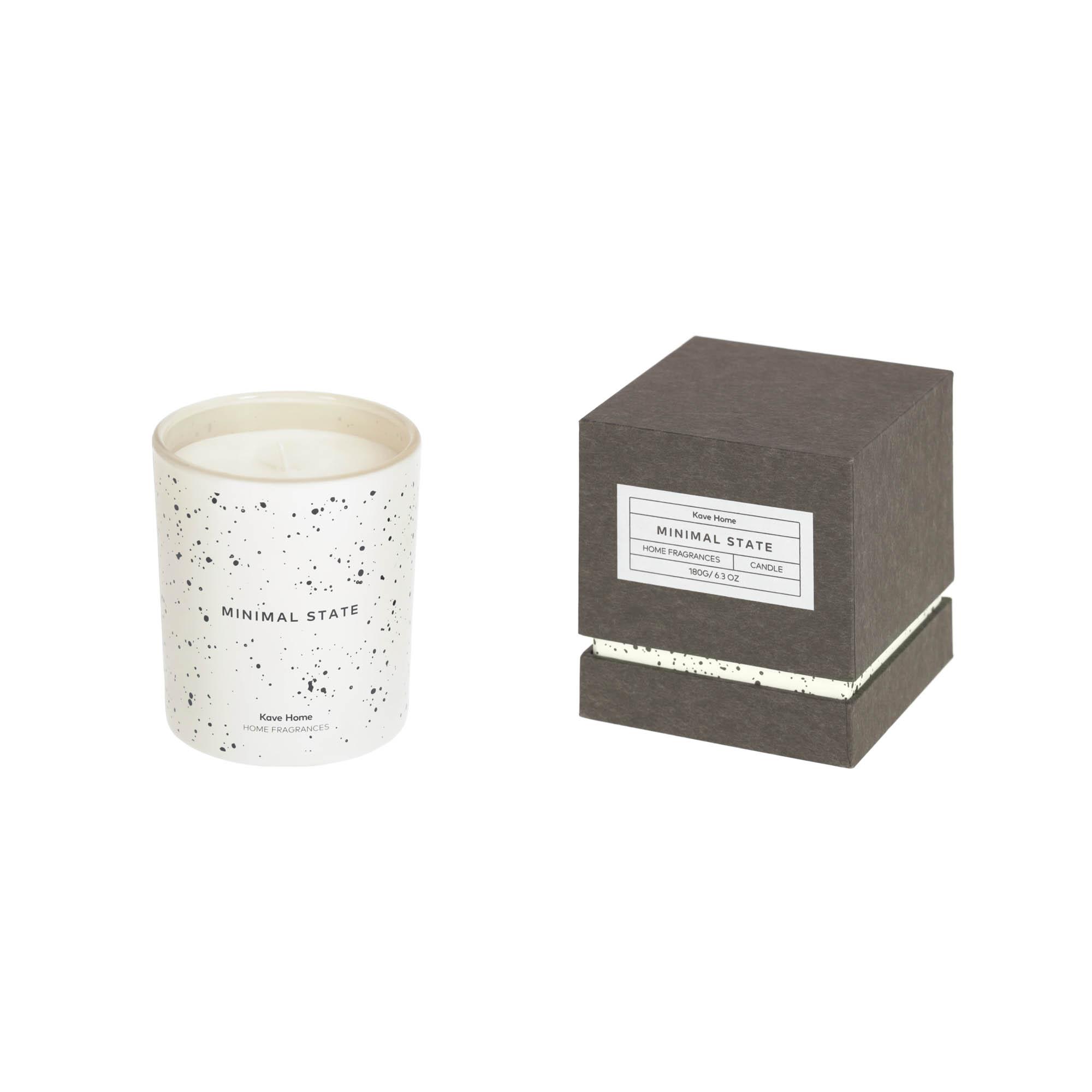 Kave home - bougie parfumée minimal state