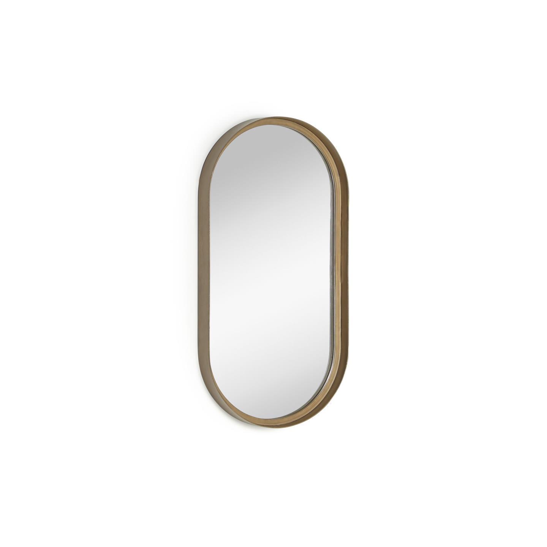 Kave home - miroir mural tiare métal doré 31 x...