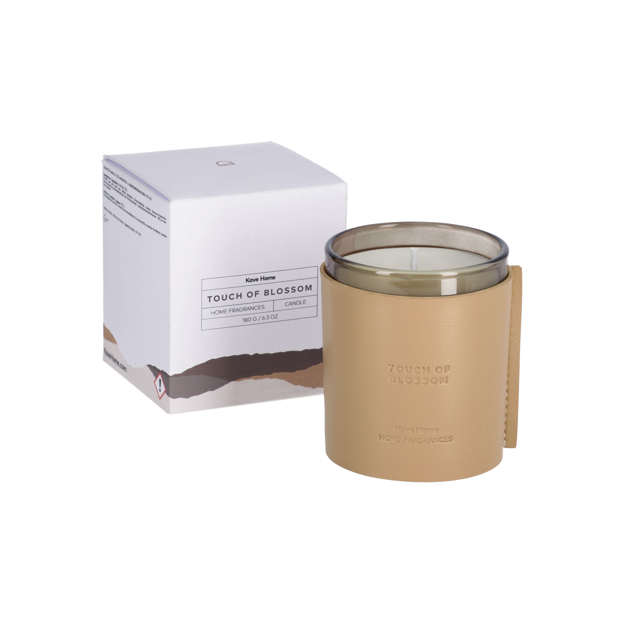 Kave home - bougie parfumée touch of blossom...