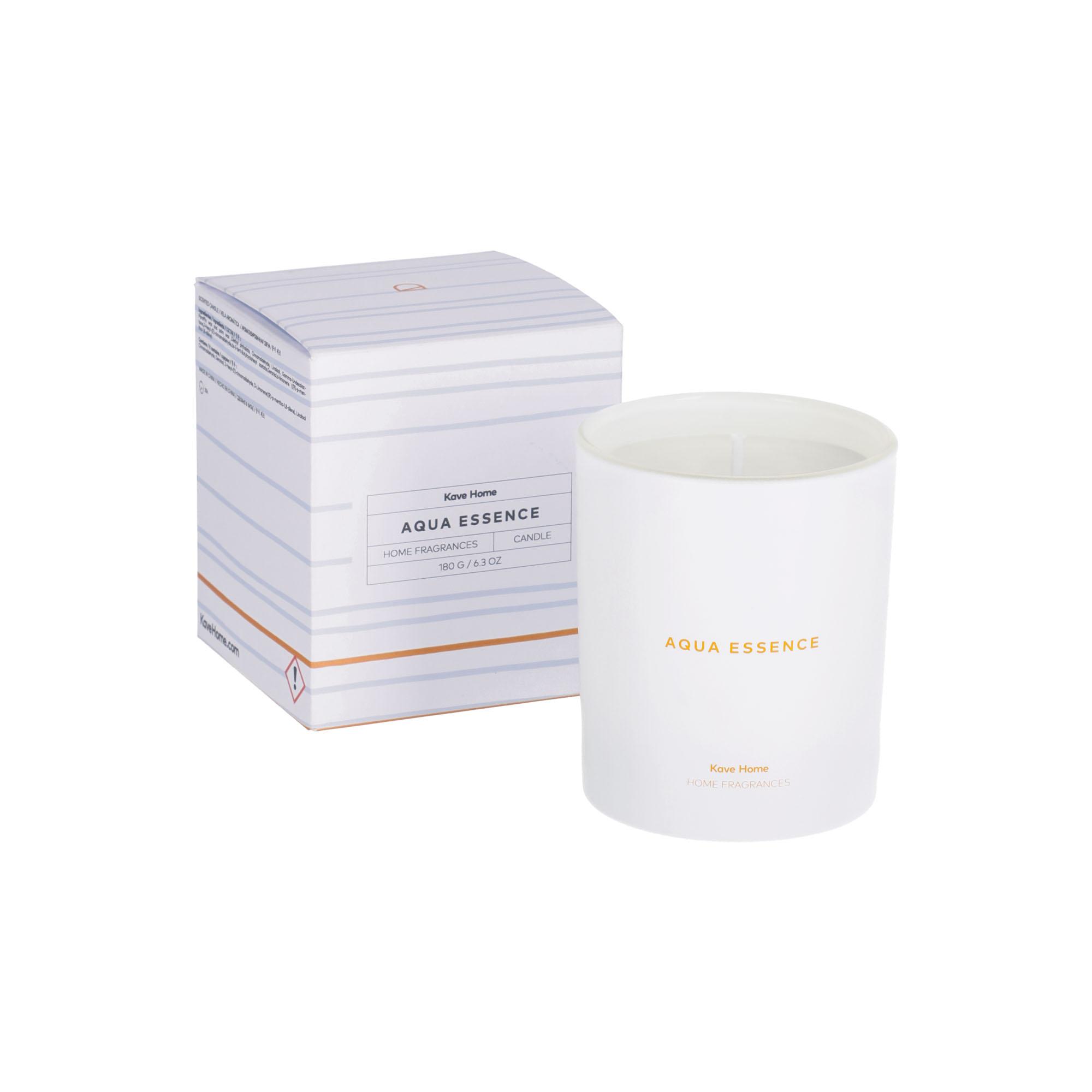Kave home - bougie parfumée aqua essence 180 gr