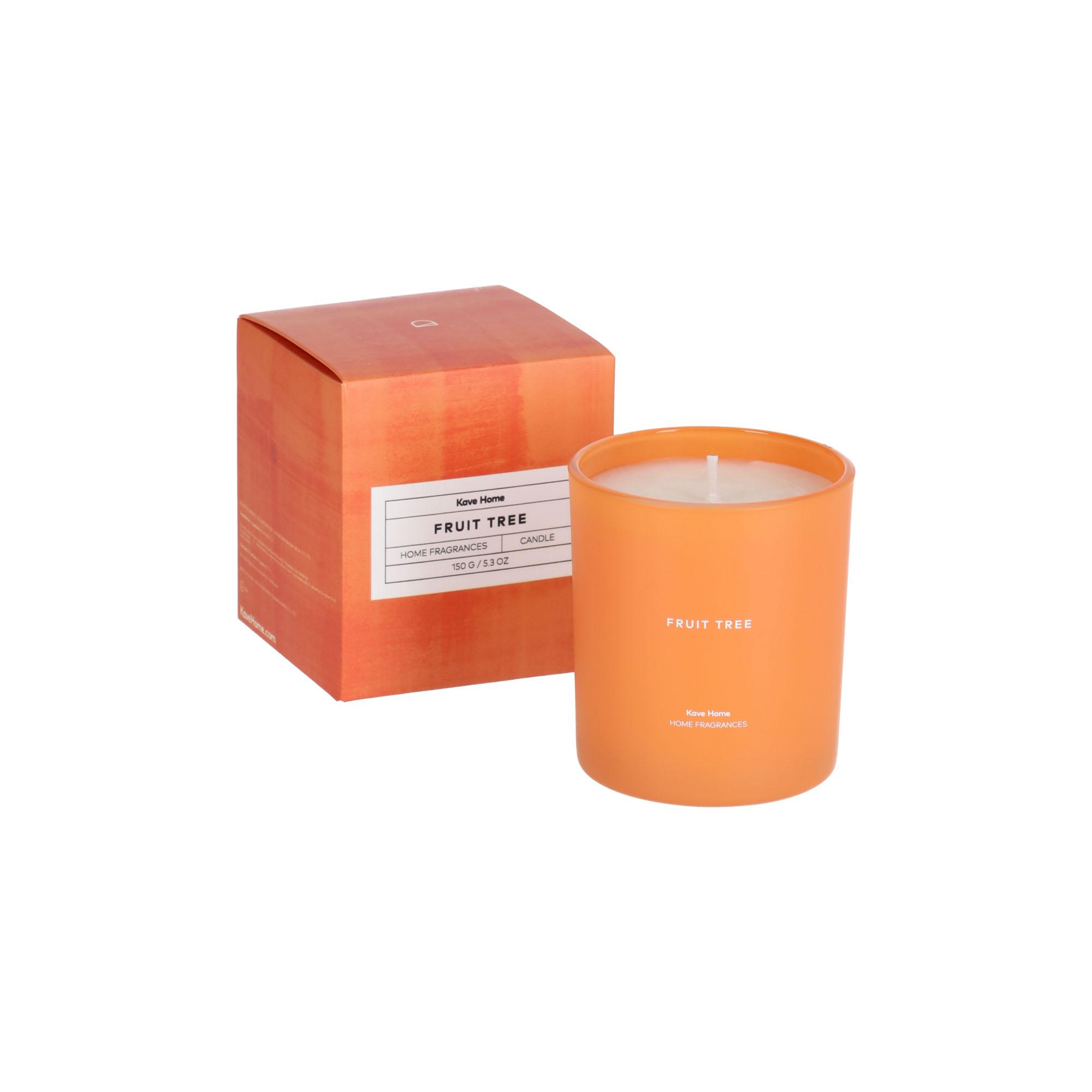 Kave home - bougie parfumée fruit tree 150 gr