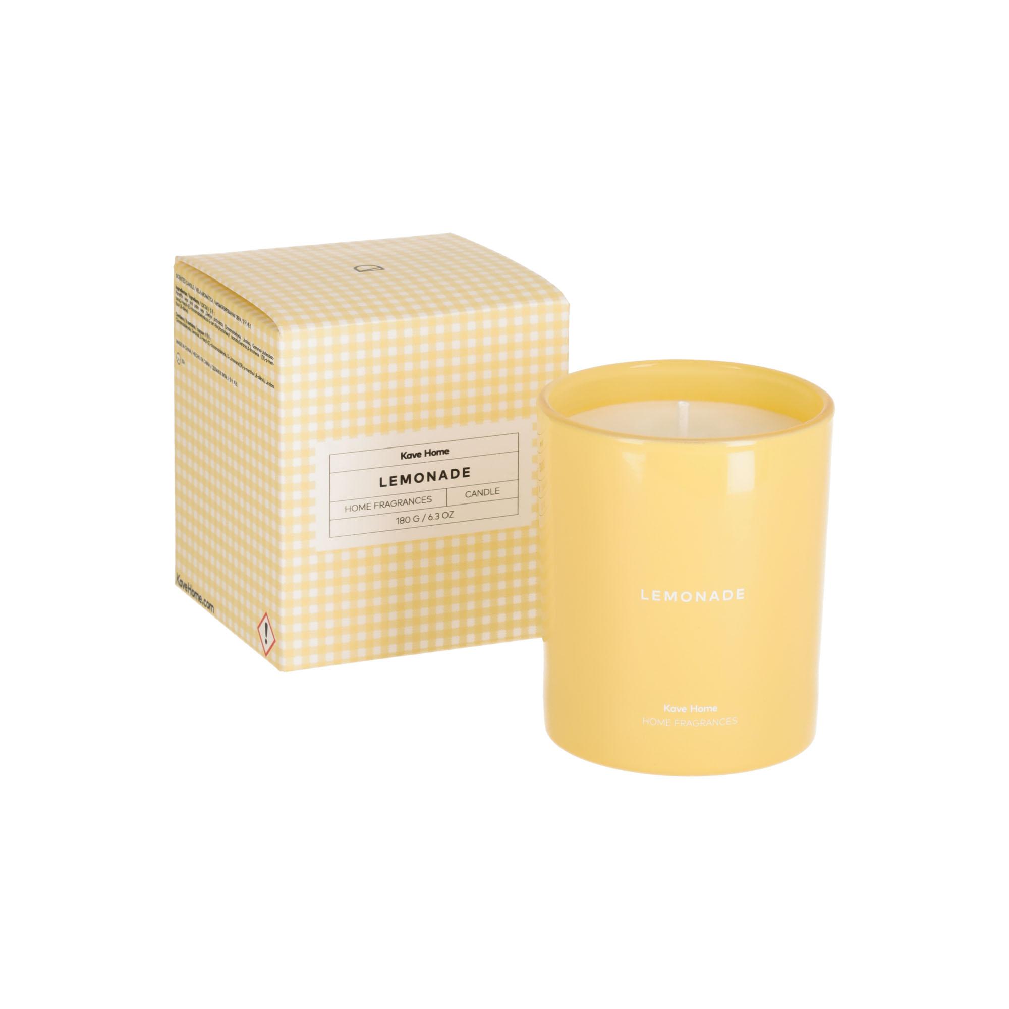Kave home - bougie parfumée lemonade 180 gr