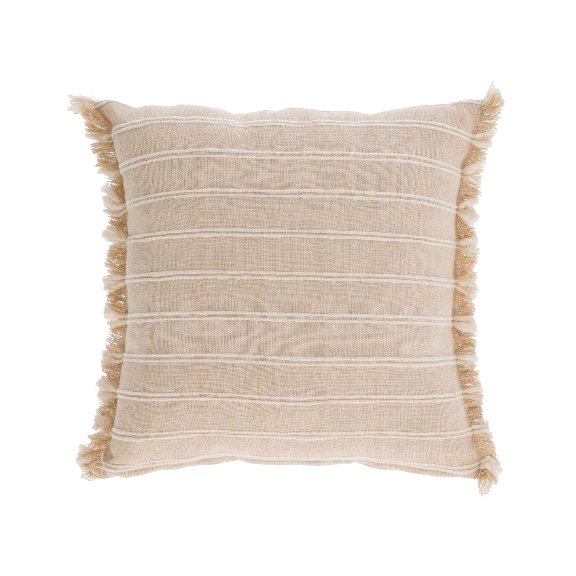 Kave home - housse de coussin sweeney 100%...