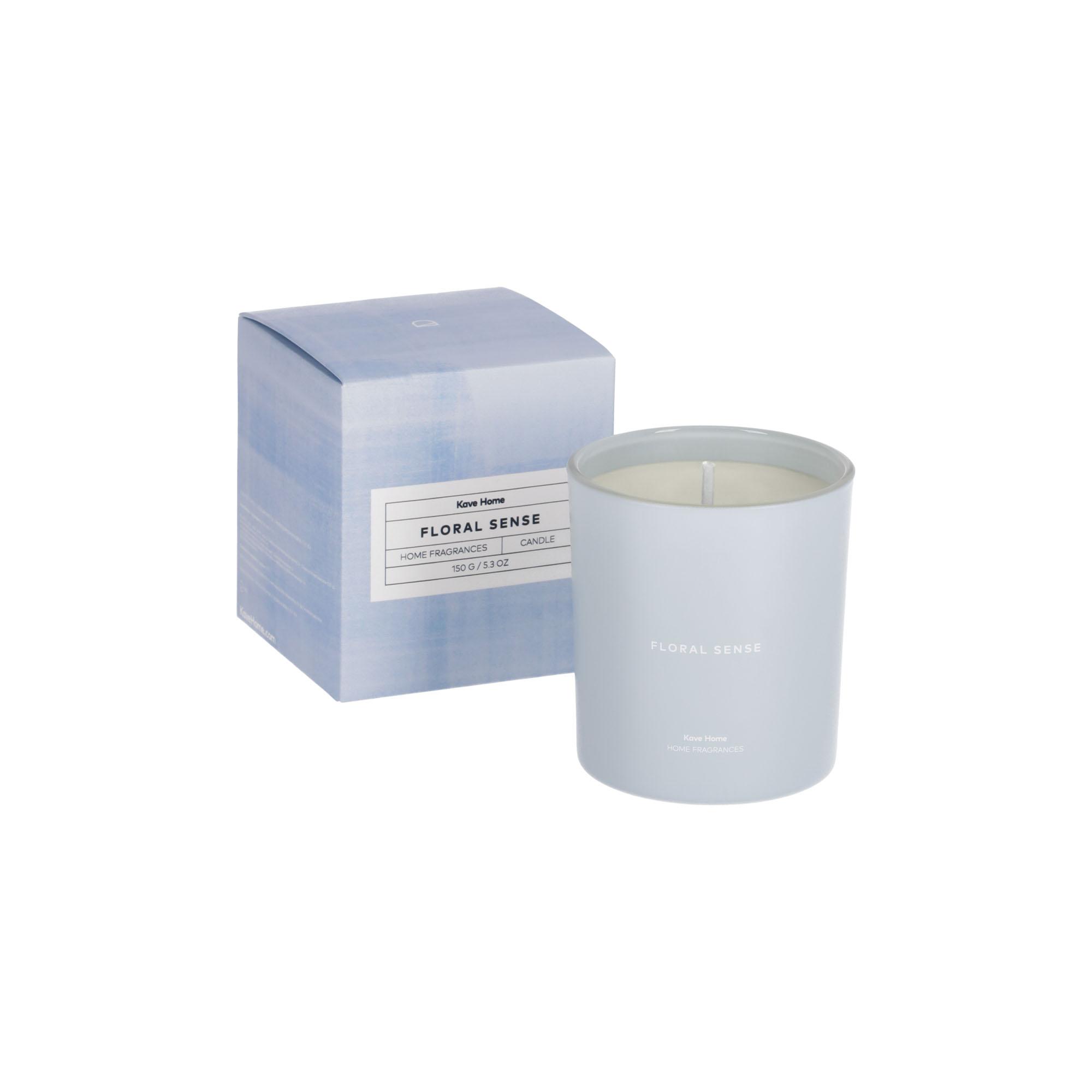 Kave home - bougie parfumée floral sense 150 gr