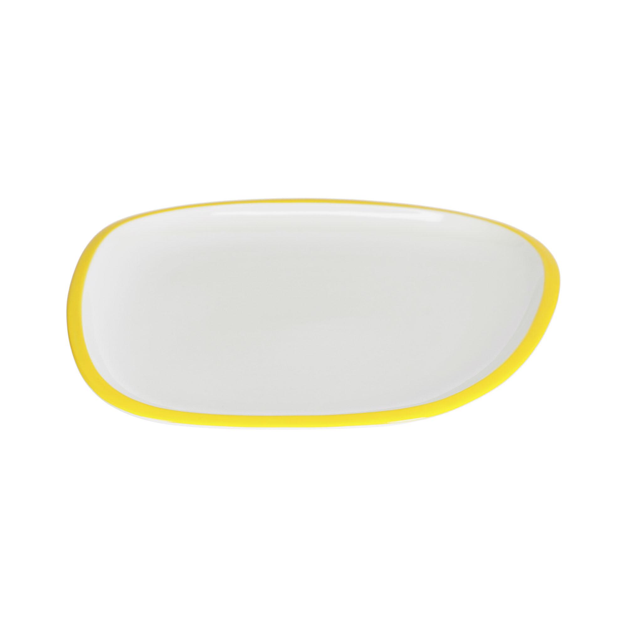 Kave home - assiette plate odalin porcelaine...