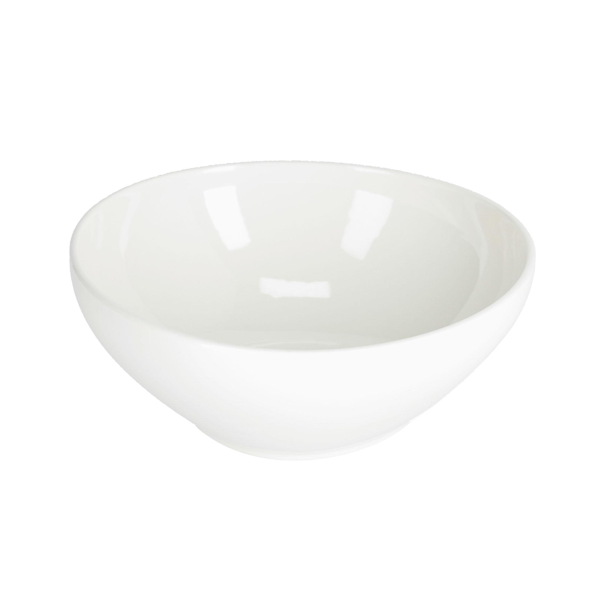 Kave home - bol rond grand pahi porcelaine blanc