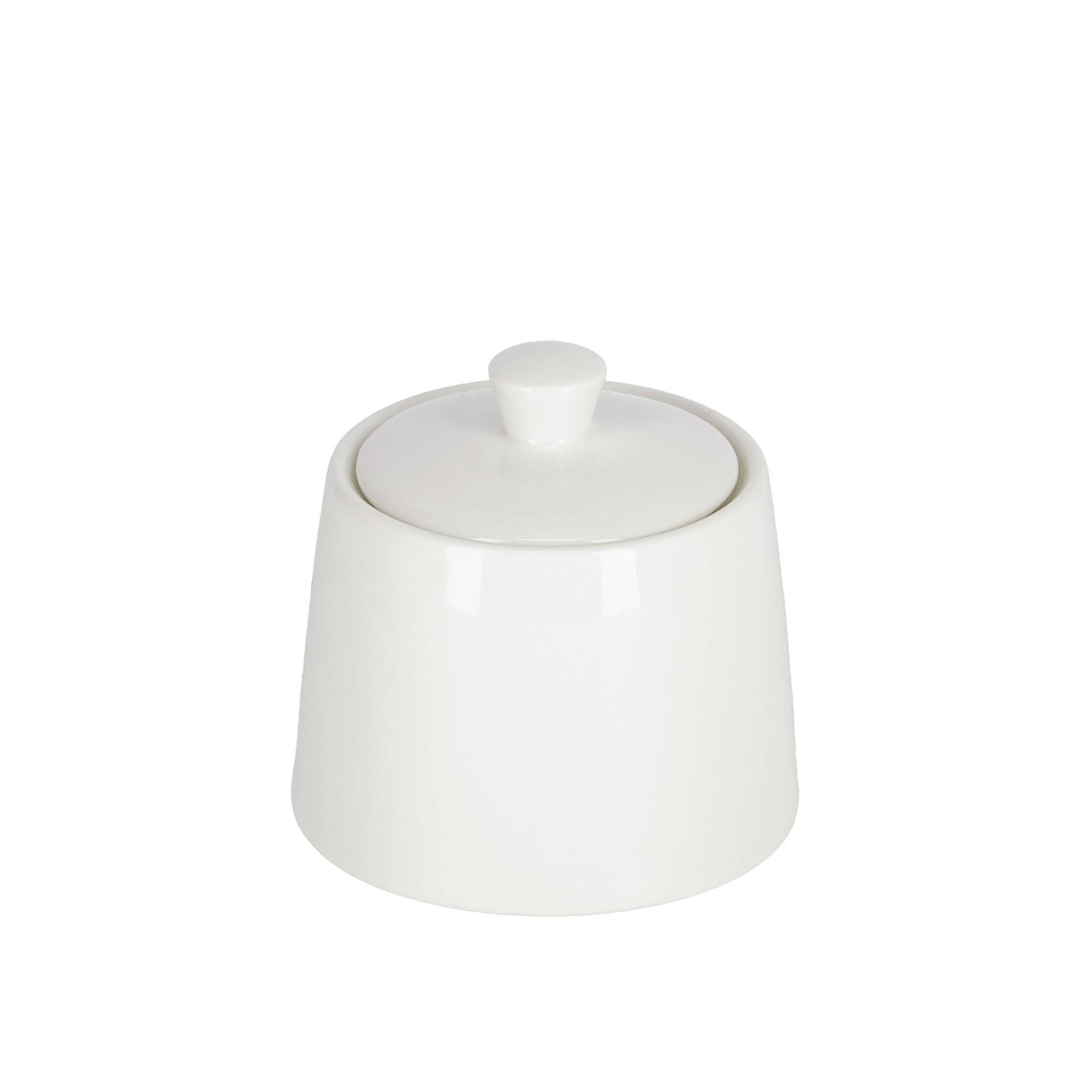 Kave home - pot à sucre pierina porcelaine blanc