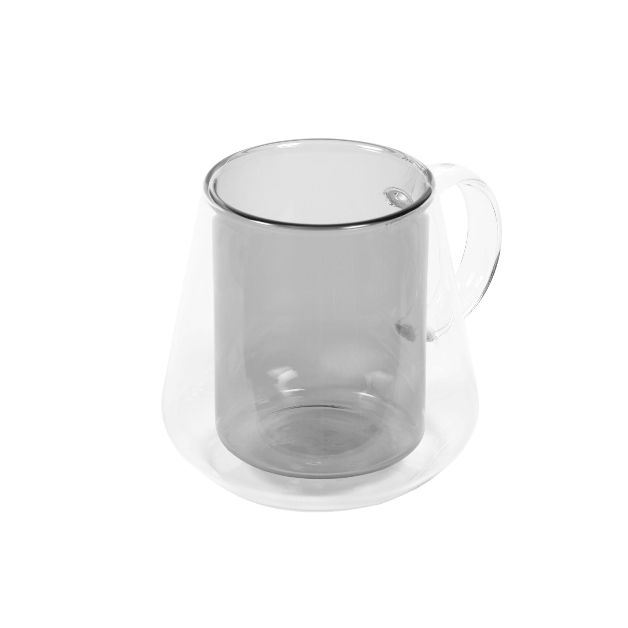 Kave home - tasse kimey en verre transparent et...