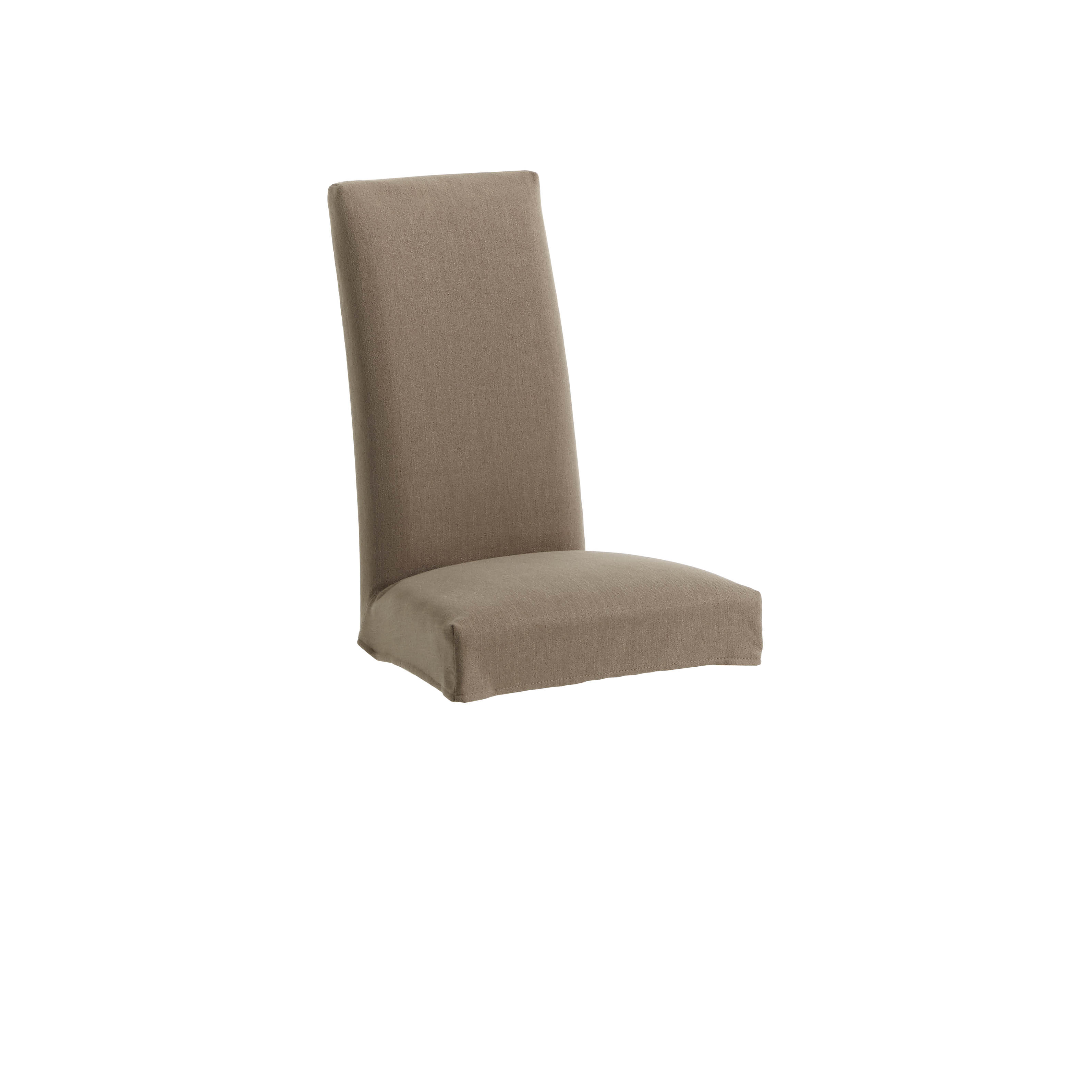 Kave home - housse de chaise freda marron