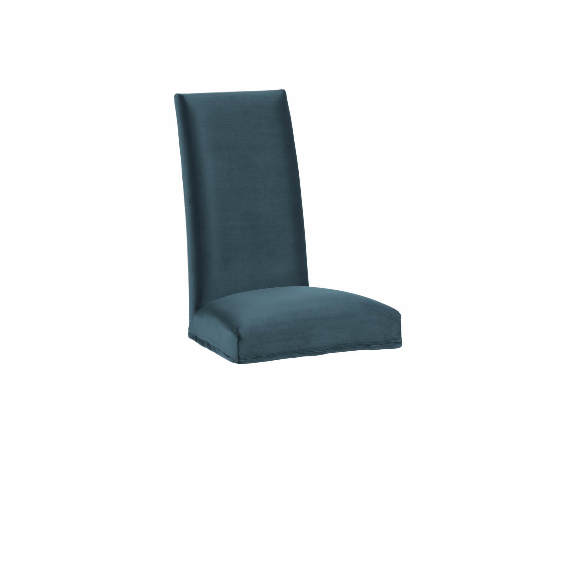 Kave home - housse de chaise freda velours...