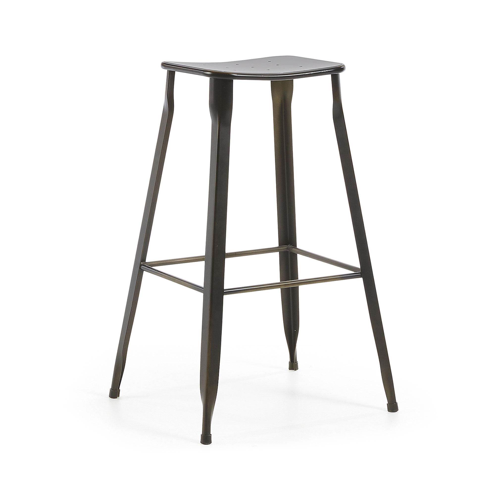 Kave Home - Gluke Barhocker, Höhe 78 cm | Küche und Esszimmer > Bar-Möbel > Barhocker | Kave Home