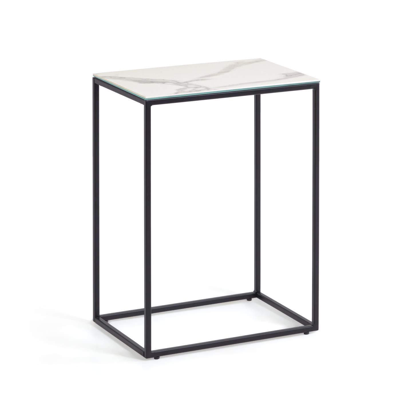 Kave home - table d'appoint rewena porcelain...